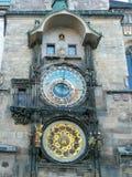 Reloj astronómico de Praga Imagenes de archivo