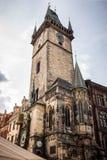 Reloj astronómico de Praga Fotos de archivo libres de regalías