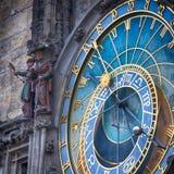 Reloj astronómico 1 de Praga Imágenes de archivo libres de regalías