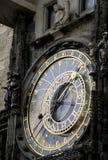 Reloj astronómico Praga Fotografía de archivo