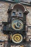 Reloj astronómico Praga Fotografía de archivo libre de regalías