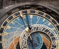 Reloj astronómico, Praga Fotografía de archivo libre de regalías
