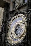 Reloj astronómico Praga Foto de archivo libre de regalías