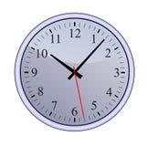 Reloj azul Imagen de archivo