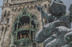Reloj bávaro Imagenes de archivo