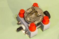Reloj bajo reparación Fotografía de archivo libre de regalías