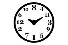 Reloj cambiado Imagen de archivo libre de regalías