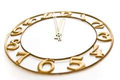 Reloj-cara Foto de archivo libre de regalías