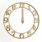 Reloj-cara Fotos de archivo libres de regalías