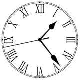 Reloj-Cara Fotografía de archivo