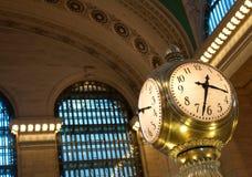 Reloj central magnífico foto de archivo