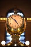 Reloj central magnífico Imagenes de archivo