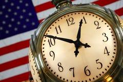 Reloj central magnífico Imagen de archivo libre de regalías