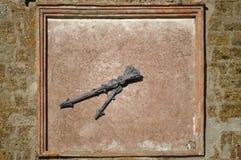 Reloj ciego Imagen de archivo libre de regalías