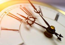 Reloj clásico Fotografía de archivo libre de regalías