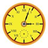 Reloj clásico imagen de archivo