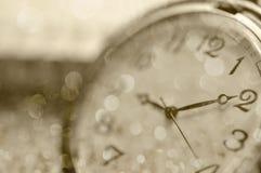 Reloj clásico con el indicador móvil Fotografía de archivo libre de regalías