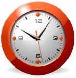 Reloj clásico de la oficina Fotografía de archivo libre de regalías