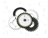 Reloj con los engranajes Imagen de archivo