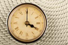 Reloj con los números romanos Foto de archivo