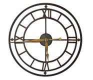Reloj con los números romanos Fotografía de archivo