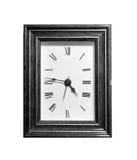 Reloj cuadrado Foto de archivo