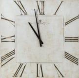 Reloj cuadrado del pedazo del tiempo Foto de archivo