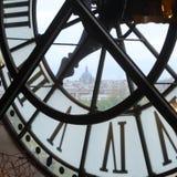Reloj d'Orsay de Musée Foto de archivo libre de regalías
