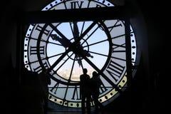Reloj d'orsay de Musee Imagenes de archivo