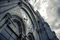 Reloj de Ла basÃlica Кито Стоковое Изображение RF
