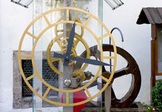 Reloj de agua de la turbina Imagenes de archivo