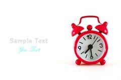 Reloj de alarma Imagen de archivo libre de regalías