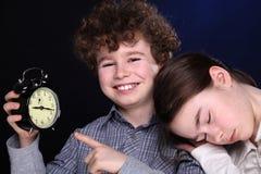 Reloj de alarma Fotografía de archivo libre de regalías