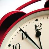 Reloj de alarma Foto de archivo libre de regalías