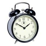 Reloj de alarma aislado Foto de archivo