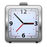 Reloj de alarma analogico Imagenes de archivo