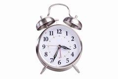 Reloj de alarma analogico Imagen de archivo libre de regalías