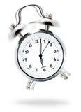Reloj de alarma clásico Imagen de archivo libre de regalías