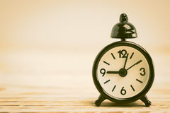 Reloj de alarma clásico fotos de archivo libres de regalías