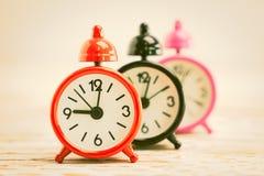 Reloj de alarma clásico imagen de archivo