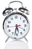 Reloj de alarma clásico retro Imagenes de archivo