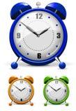 Reloj de alarma combinado Ilustración del Vector
