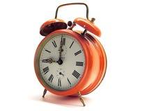reloj de alarma de 9 o?clock Foto de archivo libre de regalías