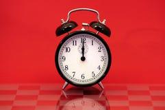 Reloj de alarma de la vendimia Imágenes de archivo libres de regalías