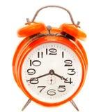 Reloj de alarma de la vendimia Imagen de archivo libre de regalías