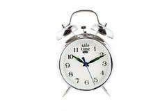 Reloj de alarma de la venta Fotografía de archivo