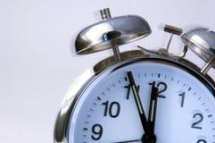 Reloj de alarma de sonido Foto de archivo libre de regalías