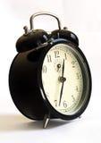 Reloj de alarma del viejo estilo Fotos de archivo libres de regalías