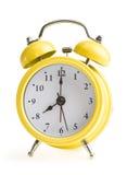 Reloj de alarma del viejo estilo Imagen de archivo libre de regalías