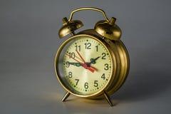 Reloj de alarma mecánico viejo 3 Fotografía de archivo